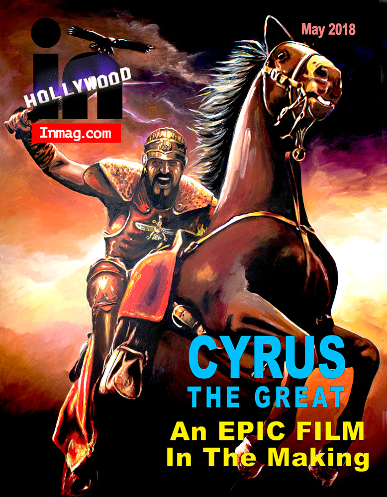 Cyrus on the In Hollywood magazine cover